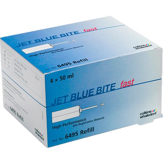 JET BLUE BITE:  Material de impresión para el registro de mordida