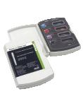 KIT PARAPOST TAPER LUX:  Kit completo de postes dentales hibridos